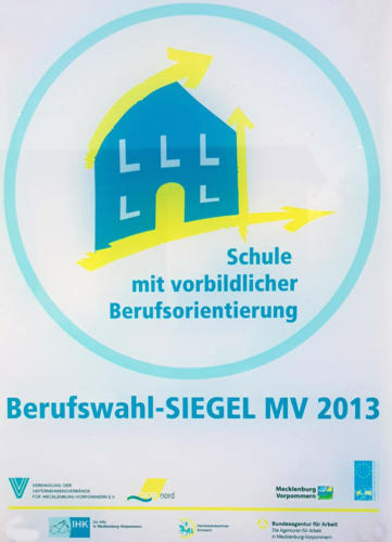 Berufswahlsiegel 2013
