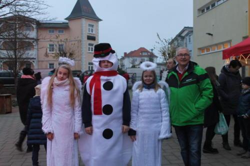 Schneemann, Engel und Bürgermeister